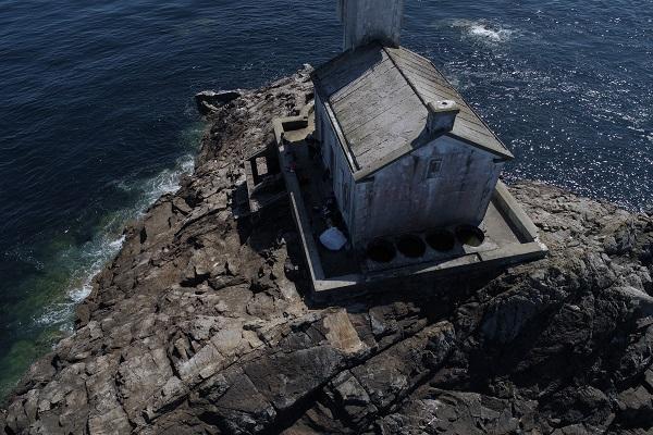 Tévennec toit coté nord
