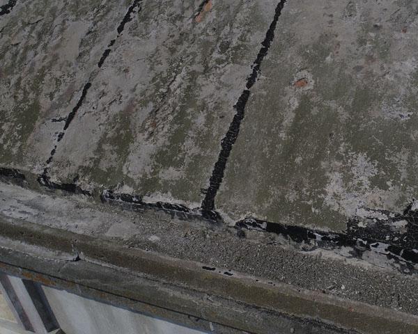 Tévennec détail du toit
