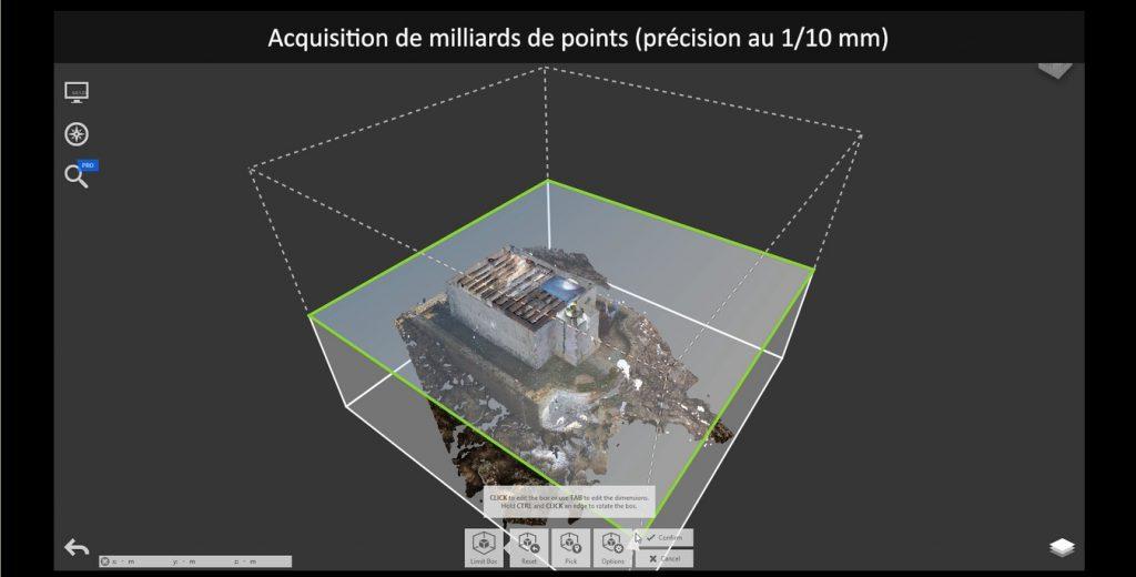 Plan 3D miniature video
