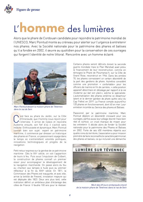 Dans la revue du Yacht Club de France